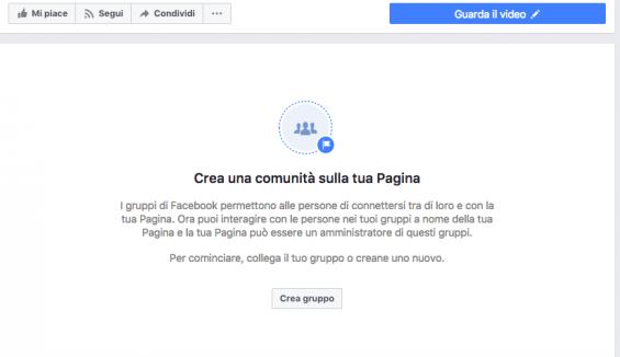 Come creare un gruppo da una pagina facebook il blog di for Per gruppo ilva punto com