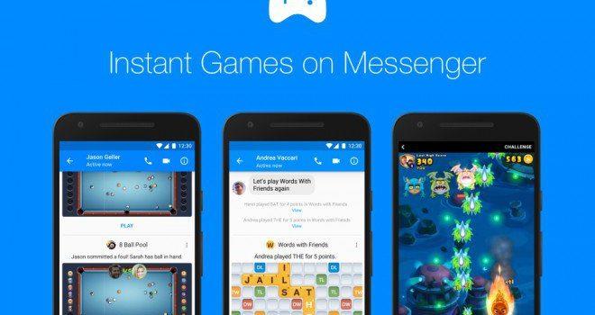 Instant Game su Messenger, ora disponibili per tutti