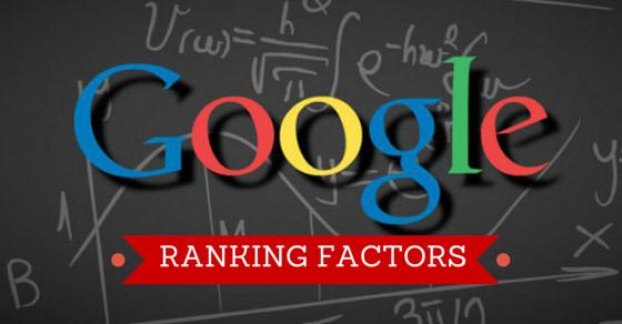 Quali sono i fattori di ranking del 2017?